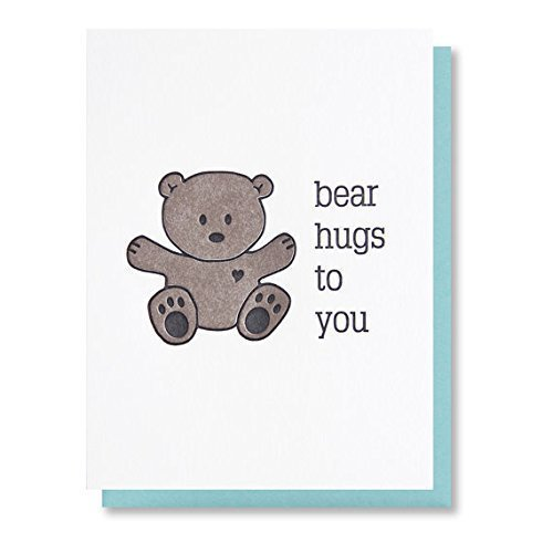 amazon com bear hugs to you thinking of you sympathy just