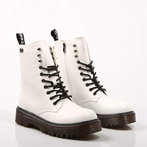 wht Para 700 Coolway Blanco Mujer Militares Botas Cardy ZARqYA