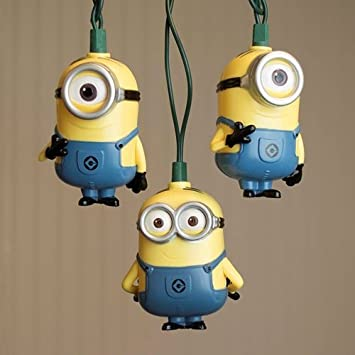 Amazon.com: Guirnalda de luces LED, Despicable Me Minions ...