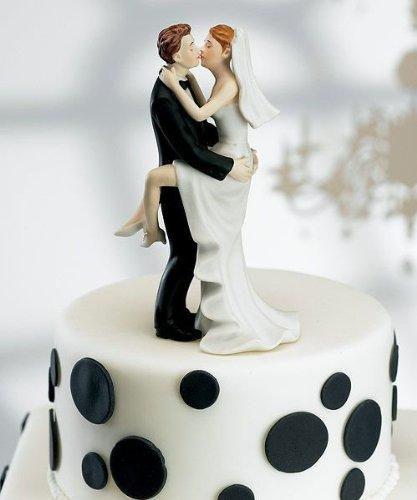 Kissing Couple Cake Topper - 1