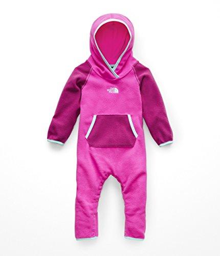(The North Face Kids Unisex Glacier One-Piece (Infant) Azalea Pink/Mint Blue 18-24 Months)