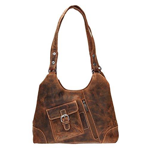 Greenburry - Tote Bag For Women Sattelbraun