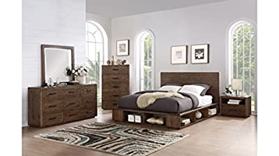 Manja Bedroom Furniture - Rustic Espresso Pine