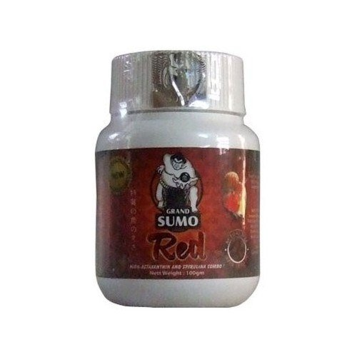 Grand Sumo Red - Flowerhorn Fish Food - 250 grams
