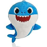 Sausiry Singing Plush - Music Sound Shark Plush Doll Soft Baby Cartoon Shark Stuffed & Plush Toys Singing English Song…