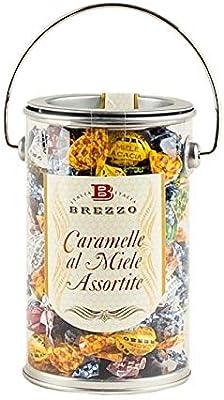 Brezzo - Cubo de dulces surtidos con miel 200gr.