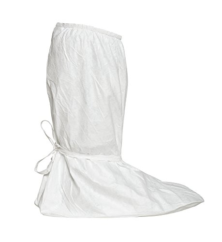 Dupont Tyvek IsoClean IC457S Boot Cover, White, X-Large (Pack of 100)