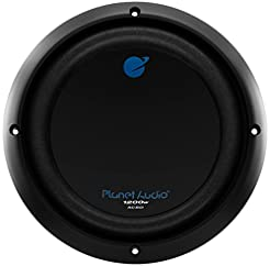 Planet Audio AC8D 8 Inch Car Subwoofer -...