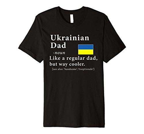 Mens Ukrainian Dad Definition tShirt Father's Day (Ukrainian National Costumes)