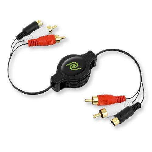ReTrak ETCABLERCASV Retractable S-Video to RCA Video Cable (ETCABLERCASV) Emerge CA
