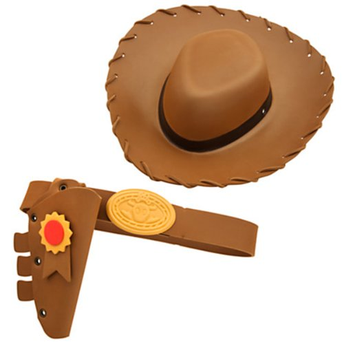 [Disney Toy Story 3 Woody Costume Accessory Set for Boys] (Woody Accessories)
