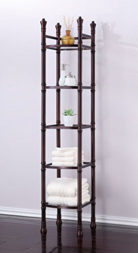 -Tier Tower Etagere Shelf, Oil Rubbed Bronze ()