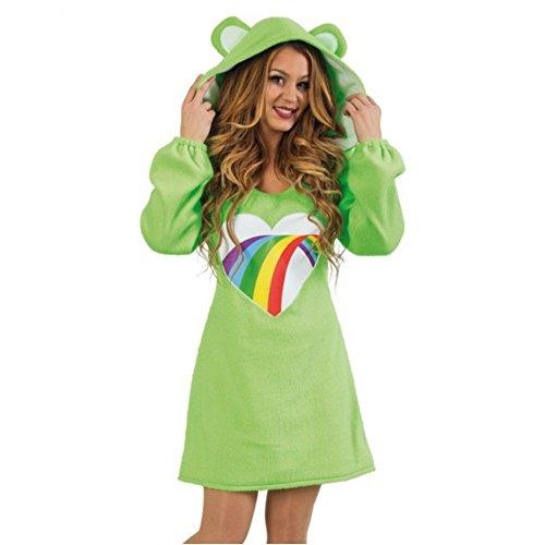 Damen Kostum Barli Kleid Grun Barchen Fasching Bar Spasskostum S
