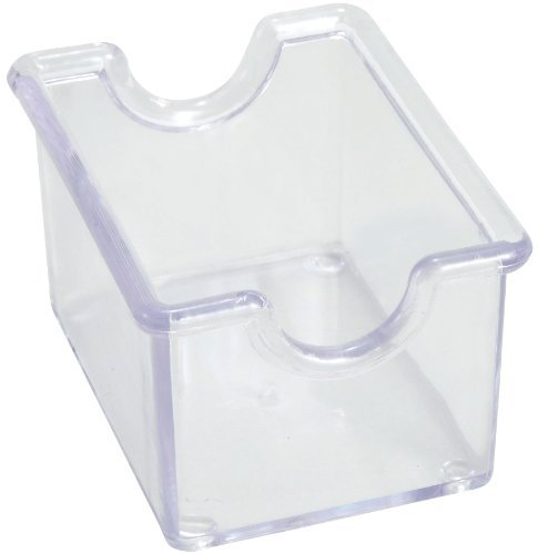 Winco 12-Piece Clear Sugar Packet Holder by Winco