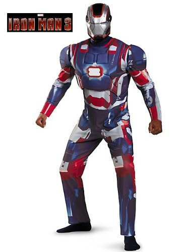 Iron Patriot Deluxe Adult Costume - X-Large