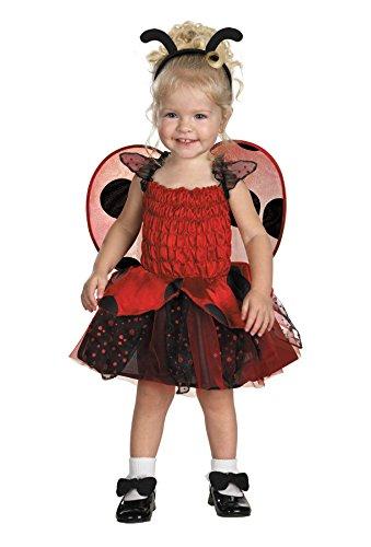 [Morris Costumes BUGZ BABYBUG LADYBUG 4-6] (Pet Ladybug Costume)
