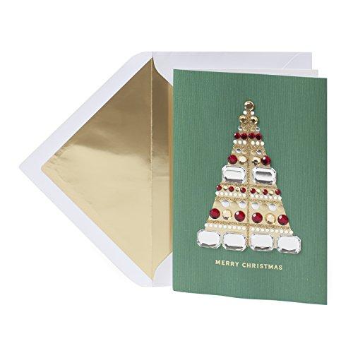 Hallmark Signature Christmas Greeting Card (Blingy Tree)