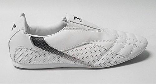 Tusah Taekwondo TKD White Indoor Martial Arts Shoes