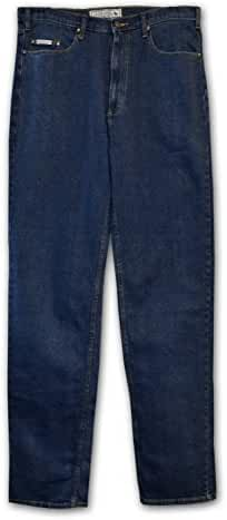 Grand River Relaxed/Classic Fit Big & Tall Mens Stonewashed Jeans