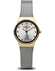 BERING Time 12924-001 Womens Classic Collection Watch with Mesh Band and scratch resistant sapphire crystal. Designed...