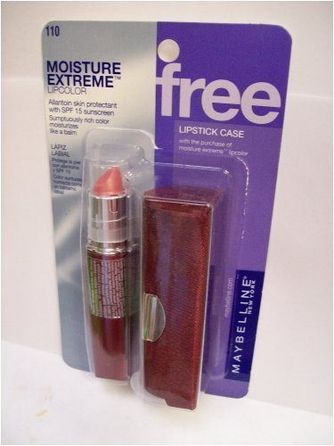 Maybelline MOISTURE EXTREME Lipcolor w/ Lipstick Case , 410 Plum Wine