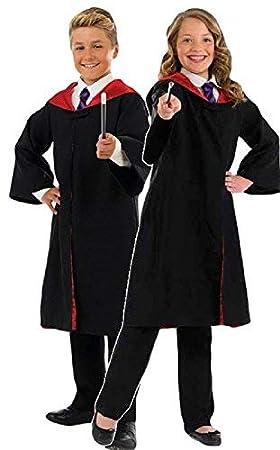 Disfraz de mago infantil con varilla, para Día del Libro ...