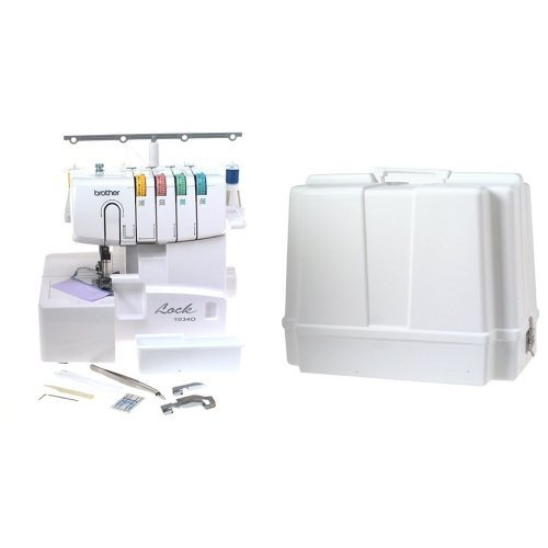 Buy Bargain Brother 1034D 3/4 Thread Serger with Differential Feed and Brother 5300 Universal Sewing...