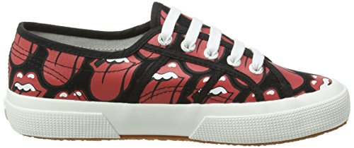 Basses Rouge 903 Baskets lips Black Mixte Black Fancotu Adulte Red Superga zq1IHS