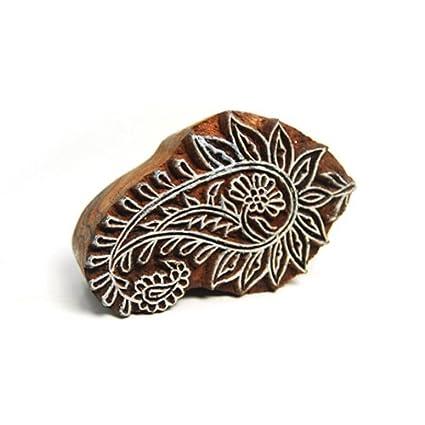 OOLY Blockwallah Wooden Stamp Dandelion Flower