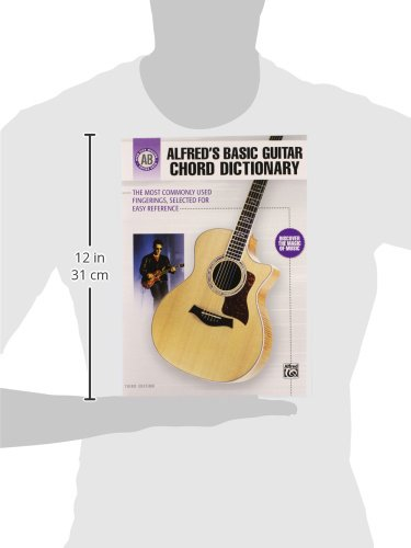 Alfreds Basic Guitar Chord Dictionary The Most Commonly Used