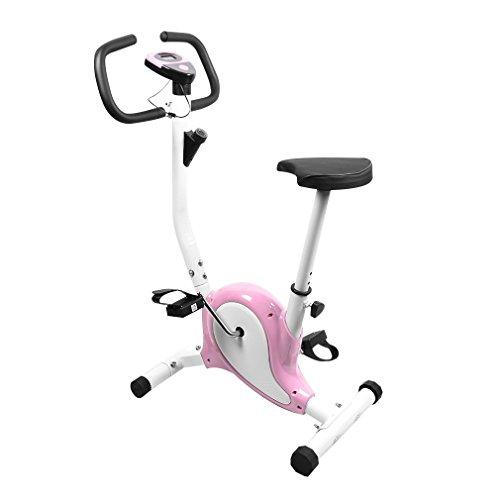 OUTAD Training Exercise Bike LCD Display Comfortable Sponge Adjustable...