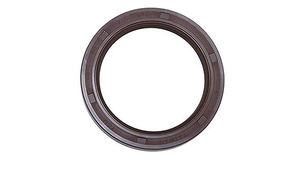TCM 40X55X7VTC-BX FKM//Carbon Steel Oil Seal VTC Type 1.575 x 2.165 x 0.276