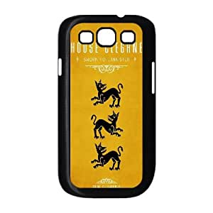 Samsung Galaxy S3 9300 Cell Phone Case Black Game Of Thrones House Clegane Y8S3ES