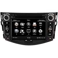 Zestech 7 inch for Toyota RAV4 2009 2010 2011 2012 In Dash HD Touch Screen Car DVD Player GPS Navigation Stereo Support Bluetooth/SD/USB/Ipod/FM/AM Radio/DVR/3G/AV-IN/1080P with North and South America Map and free Reverse Backup Rear View Camera as Gift