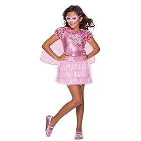 - 418D cYYotL - Dc Comic Supergirl Tutu Dress Movie Theme Toddler Child Halloween Costume