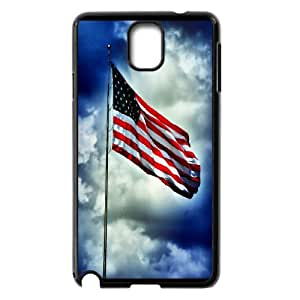 American Flag, Bold Vivid Color Design Snap-on Cover Hard Carrying Case For Samsung Galaxy NOTE3 Case Cover TPUKO-Q774584