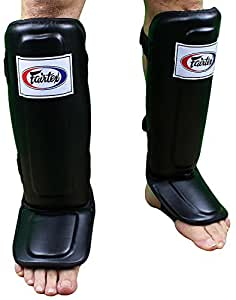 Fairtex Pro Style Shin Guards - Black - Small