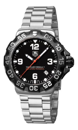 TAG Heuer Men s WAH1110.BA0858 Formula 1 Black Dial Watch