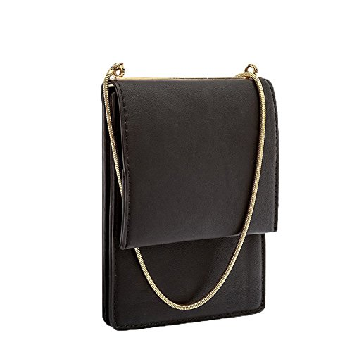 melie-bianco-ellie-chain-vegan-leather-mini-crossbody-black