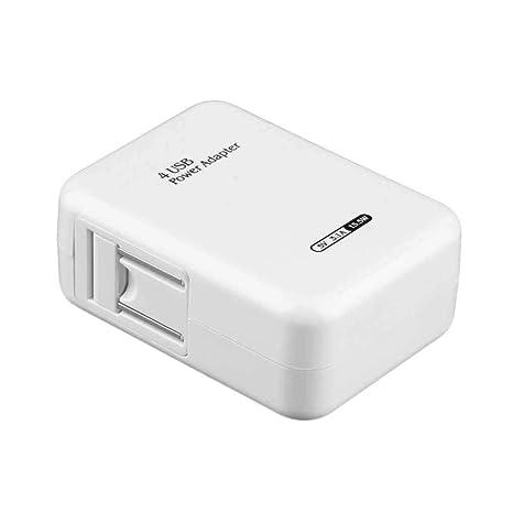 2.1A 4 Puertos USB Cargador de Pared casero Portable de la ...
