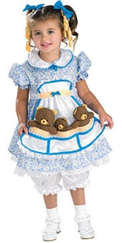 Goldilocks Costume,Small (Goldilocks Costume)