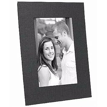 Black cardstock photo easel frame w plain border sold in 25s 4x6