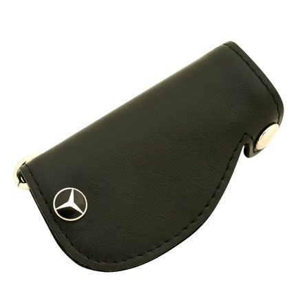 mercedes benz leather key cover genuine product import
