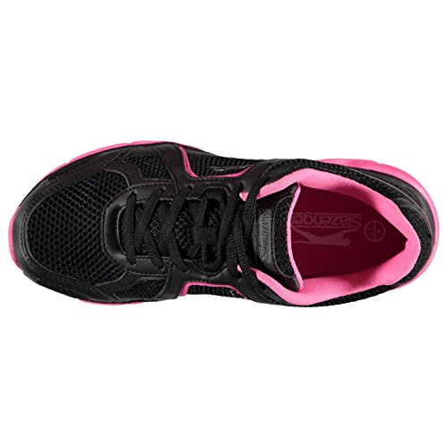 Slazenger Venture scarpe da ginnastica donna nero sneakers scarpe sportive calzature, Black