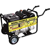 Please see replacement item# 24674. Black Diamond Gasoline Generator with Air Compressor - 2300 Surge Watts, 2000 Rated Watts, 4 CFM, 40 PSI, Model# EGT125
