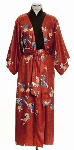 Möve Maple Twig Kimono Größe XS, rot