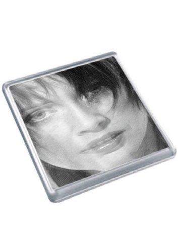 LYSETTE ANTHONY - Original Art Coaster #js001