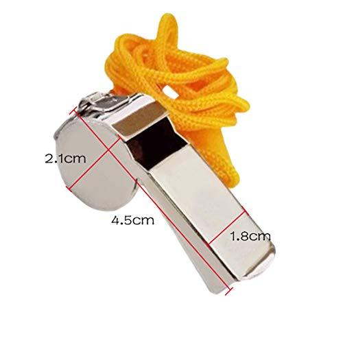 Fishing-Accessories - 1pcs Rugby Party Training Metal Referee Sports Whistle School Soccer Football Loud Train Whistles
