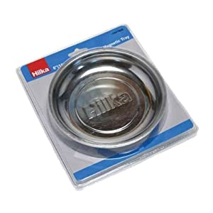 Hilka Tools 11901006 Stainless Steel Magnetic Tray, Silver, 6-Inch