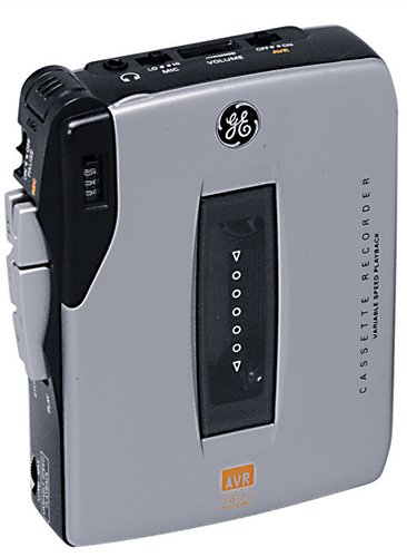 GE 35369 Mini Cassette Recorder Value Pack by GE